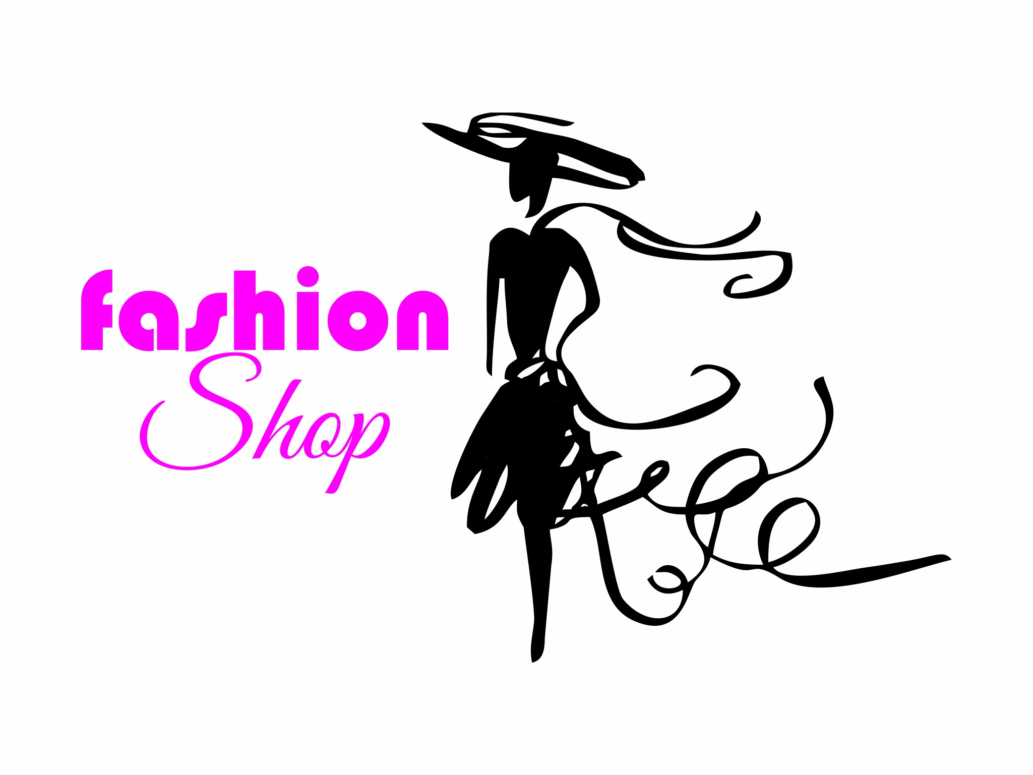 logo fashion shop
